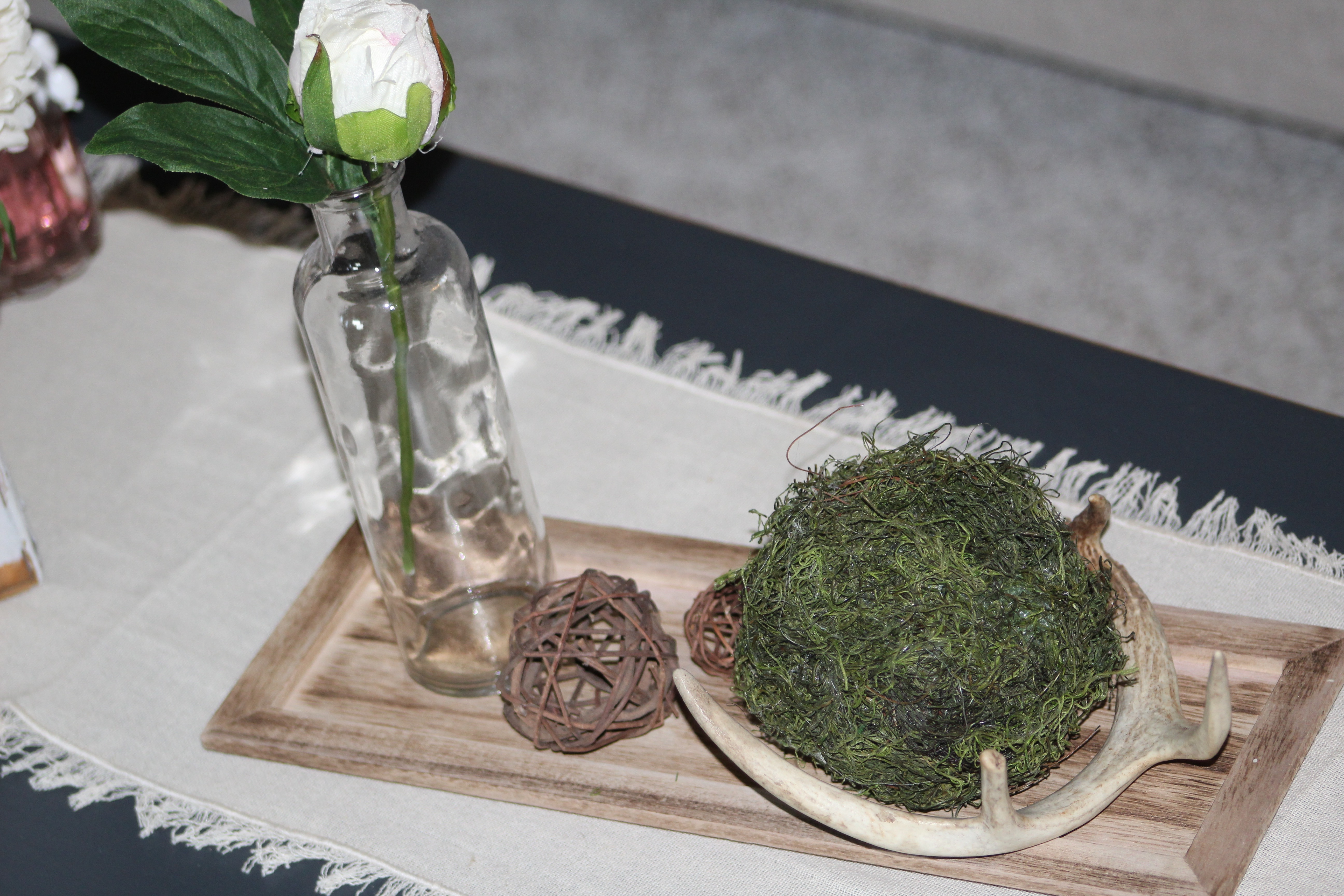 Petite Spring Wreath and Moss Balls