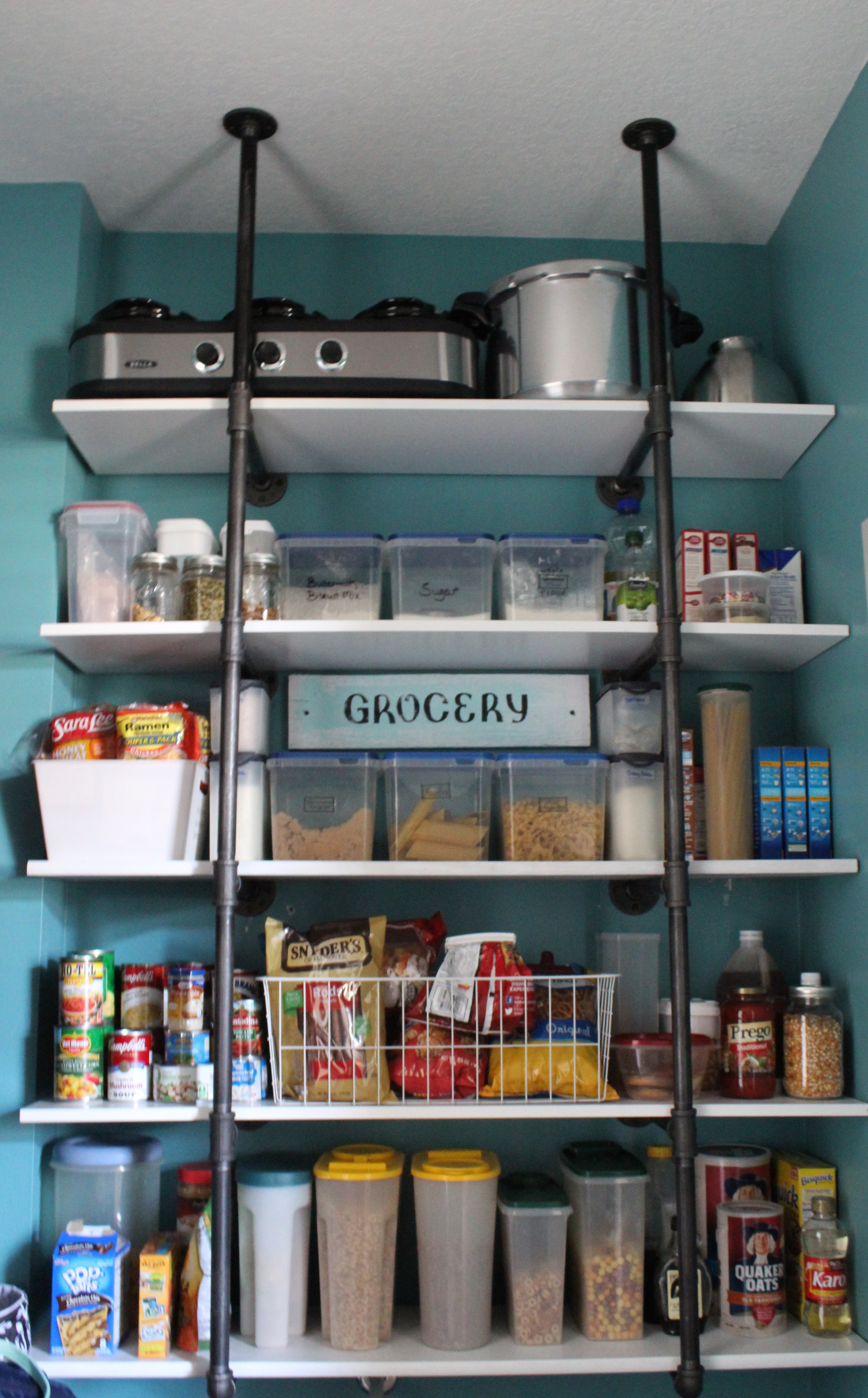 Pantry Makeover – Pinterest Worthy?