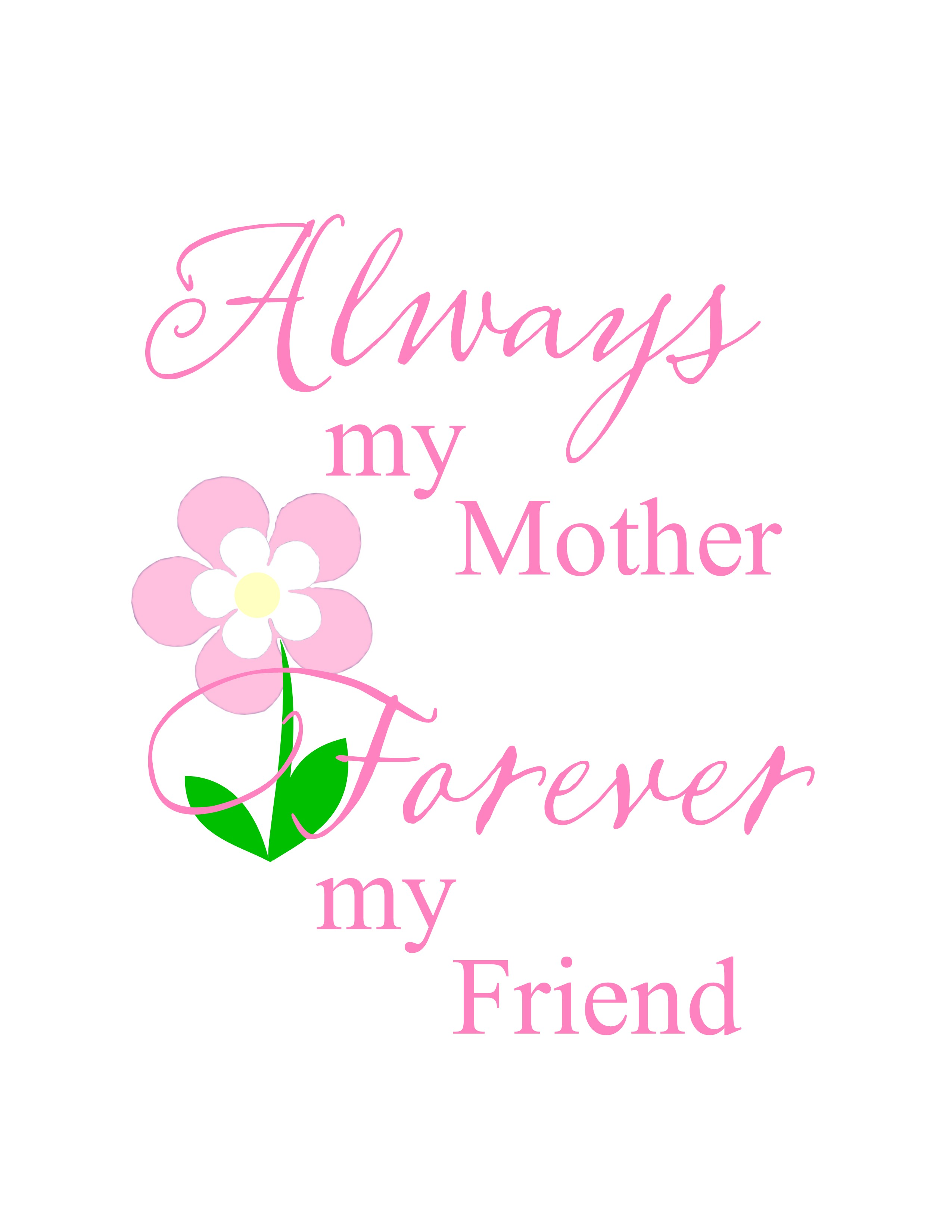 Mother's Day printable 1