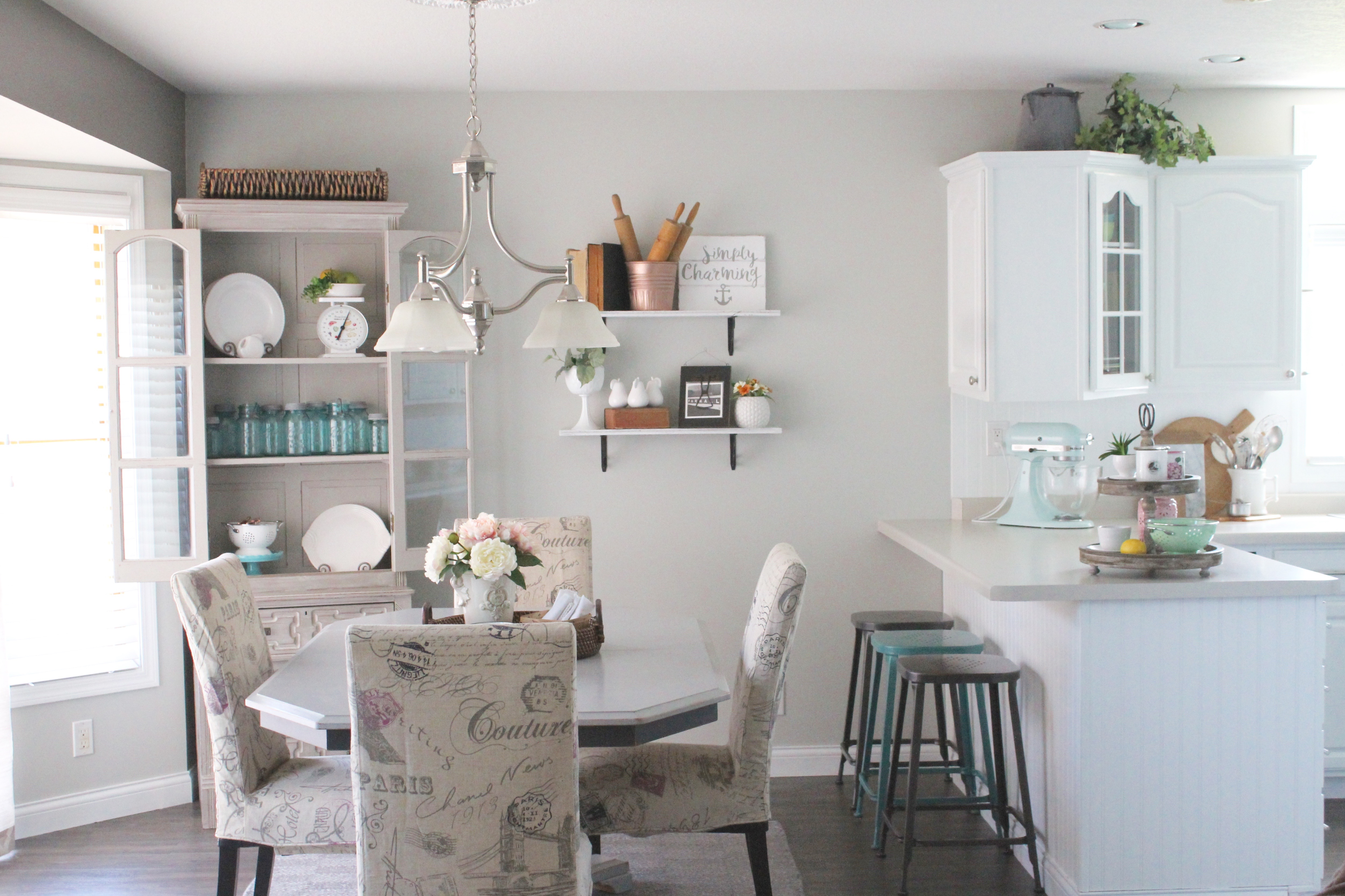 A Summer Refreshed Kitchen and Living Room – Blog Hop