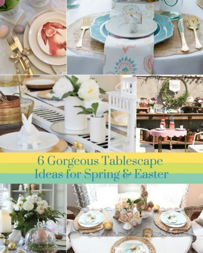 Spring – Easter Tablescape Blog Hop