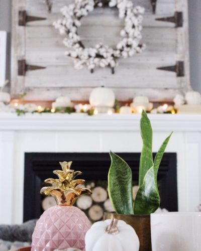 Fall Mantle Decor – 4 Different Ways