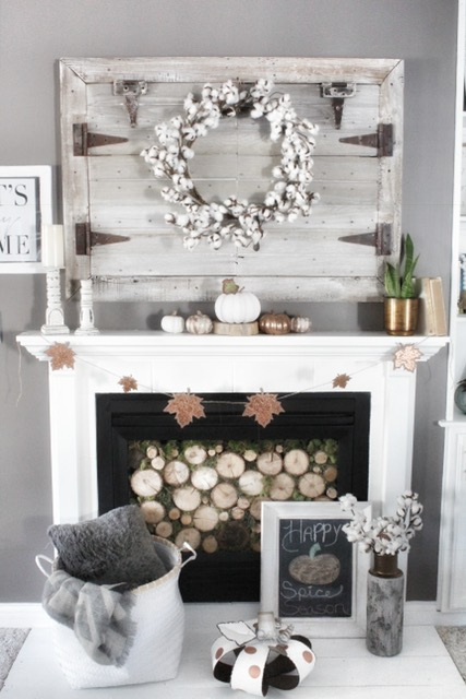 Fall Mantle Decor 4 Different Ways Simple Cozy Charm