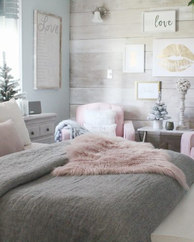 Cozy Romantic Winter Bedroom