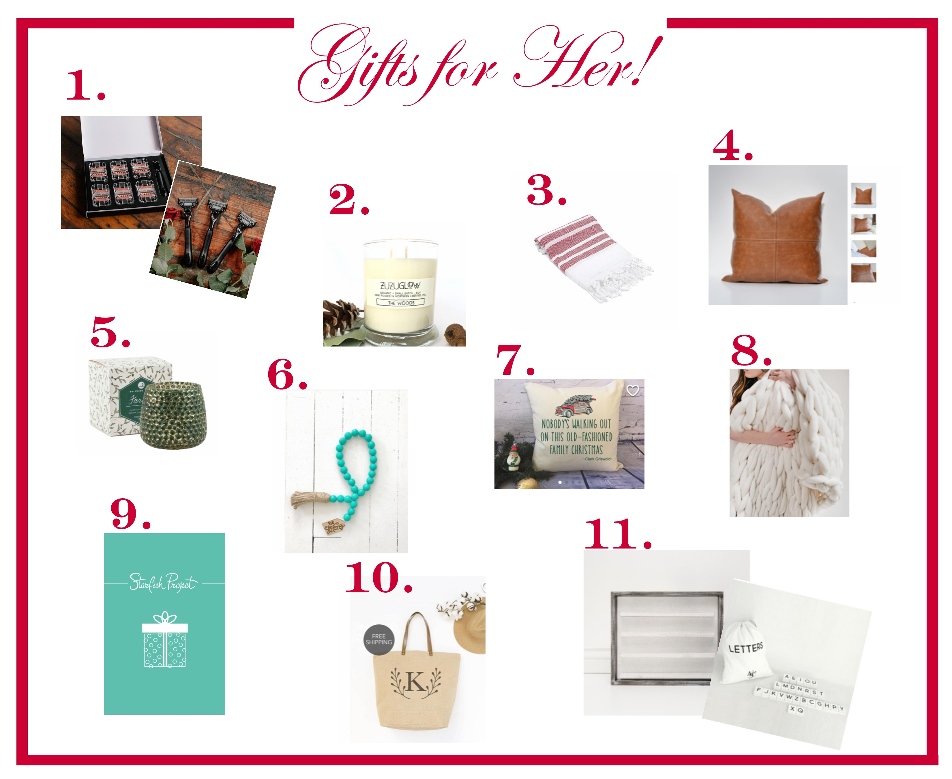 2017 Gifts for HER!