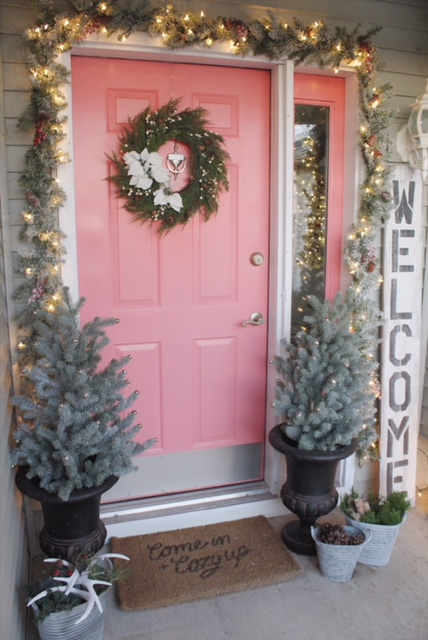 1 Door, 3 Ways - Christmas with Birch Lane Decor