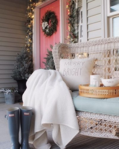 "One Door, Three Ways – Part 2 ""Christmas Porch"""