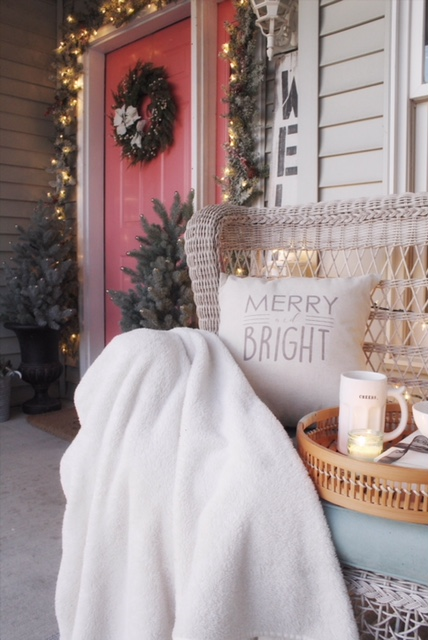 Charming front porch decor