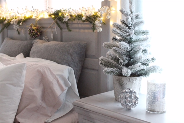Cozy Romantic Winter Bedroom Decor