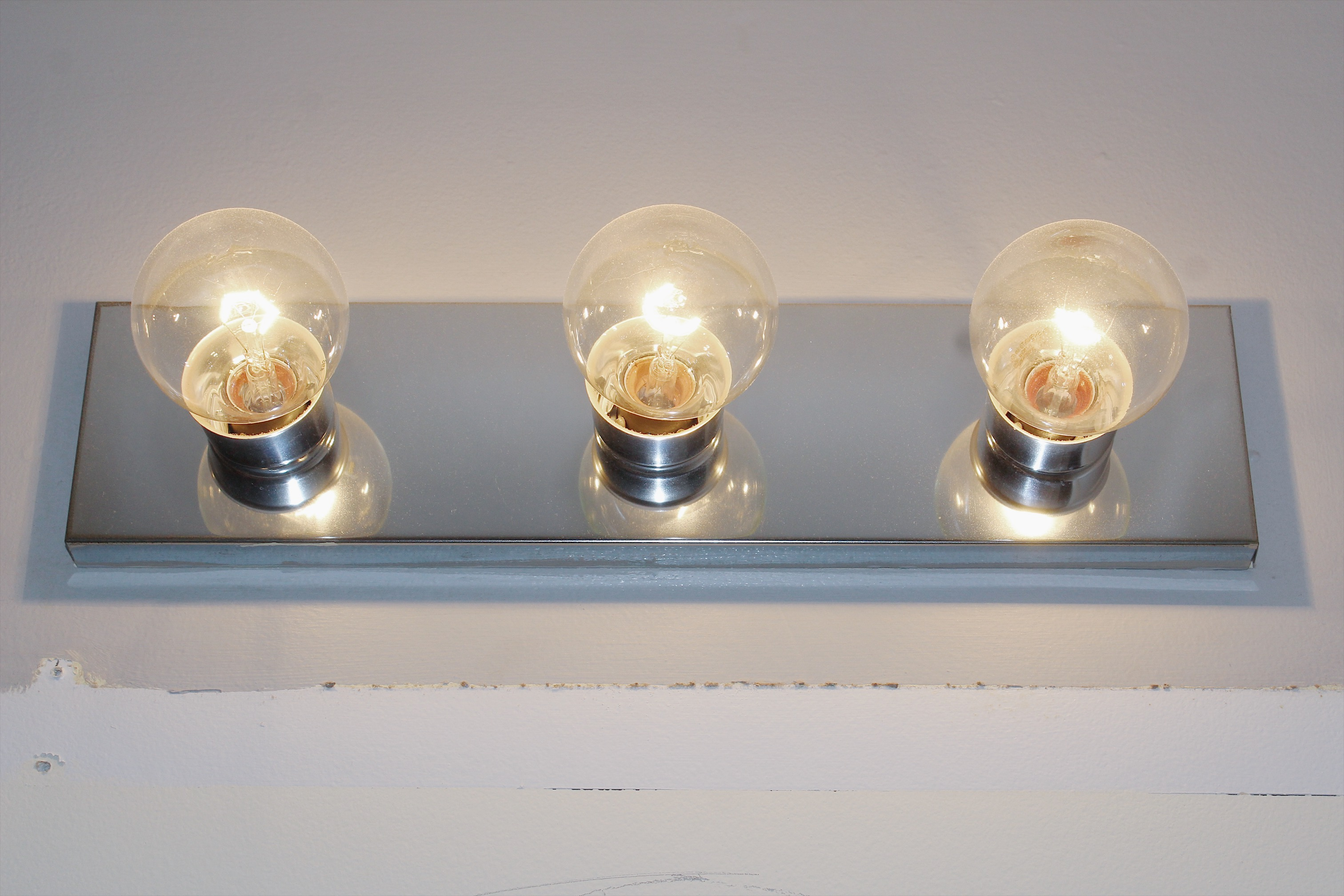 construction grade vanity lights
