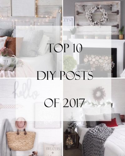 Top 10 DIY Posts of 2017