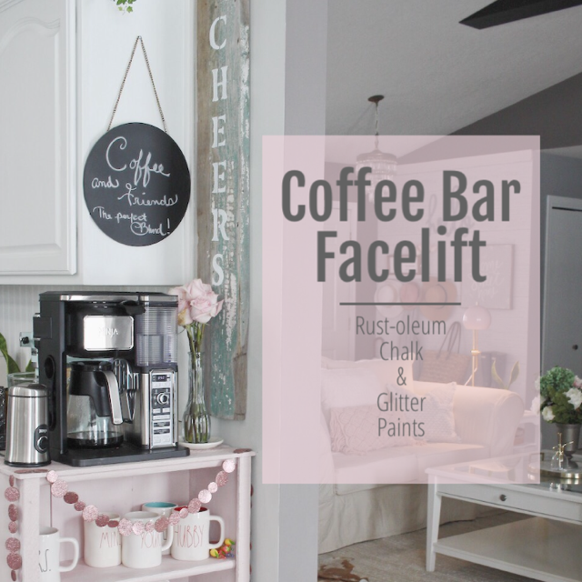 coffee bar facelift!