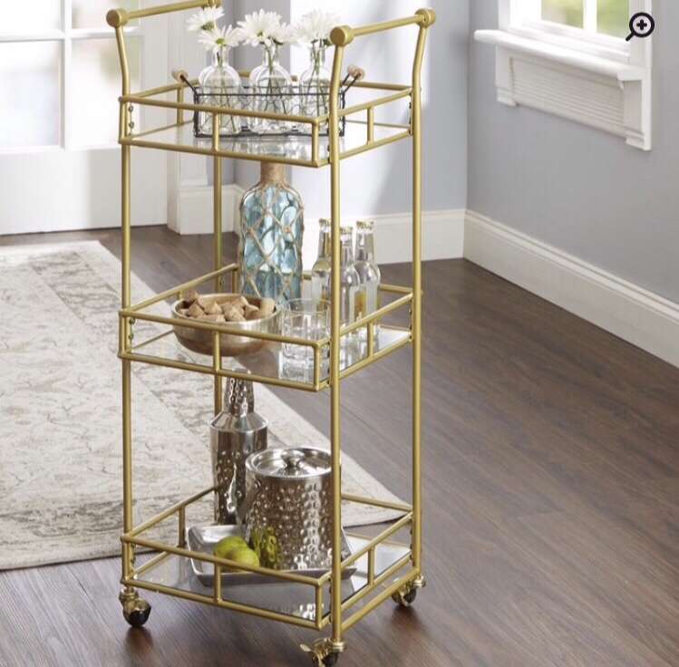 The Armando Bar Cart