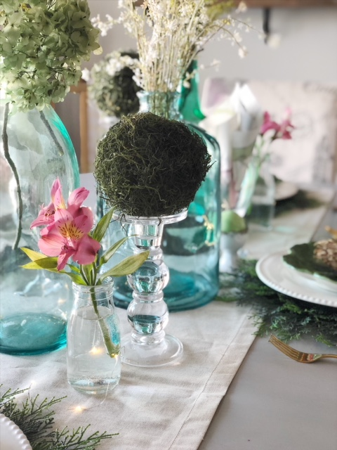 Spring and Easter Tablescape 2
