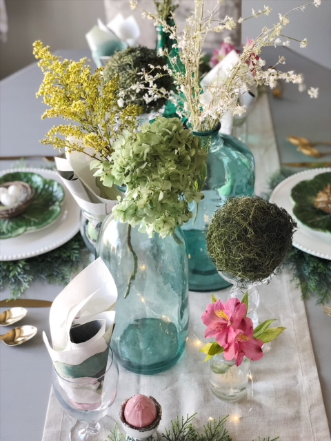 Spring and Easter Tablescape 6