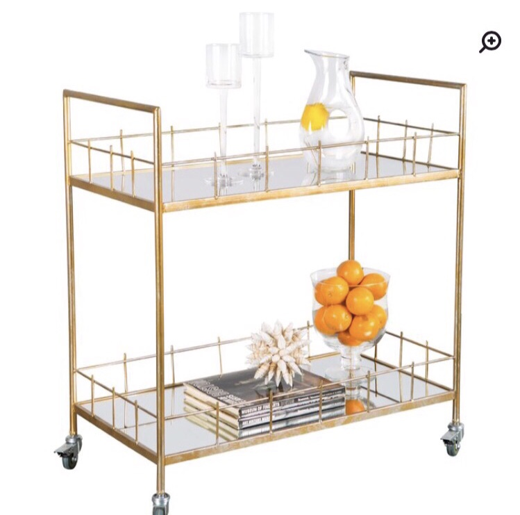 The Rebeccah bar cart from Birch Lane