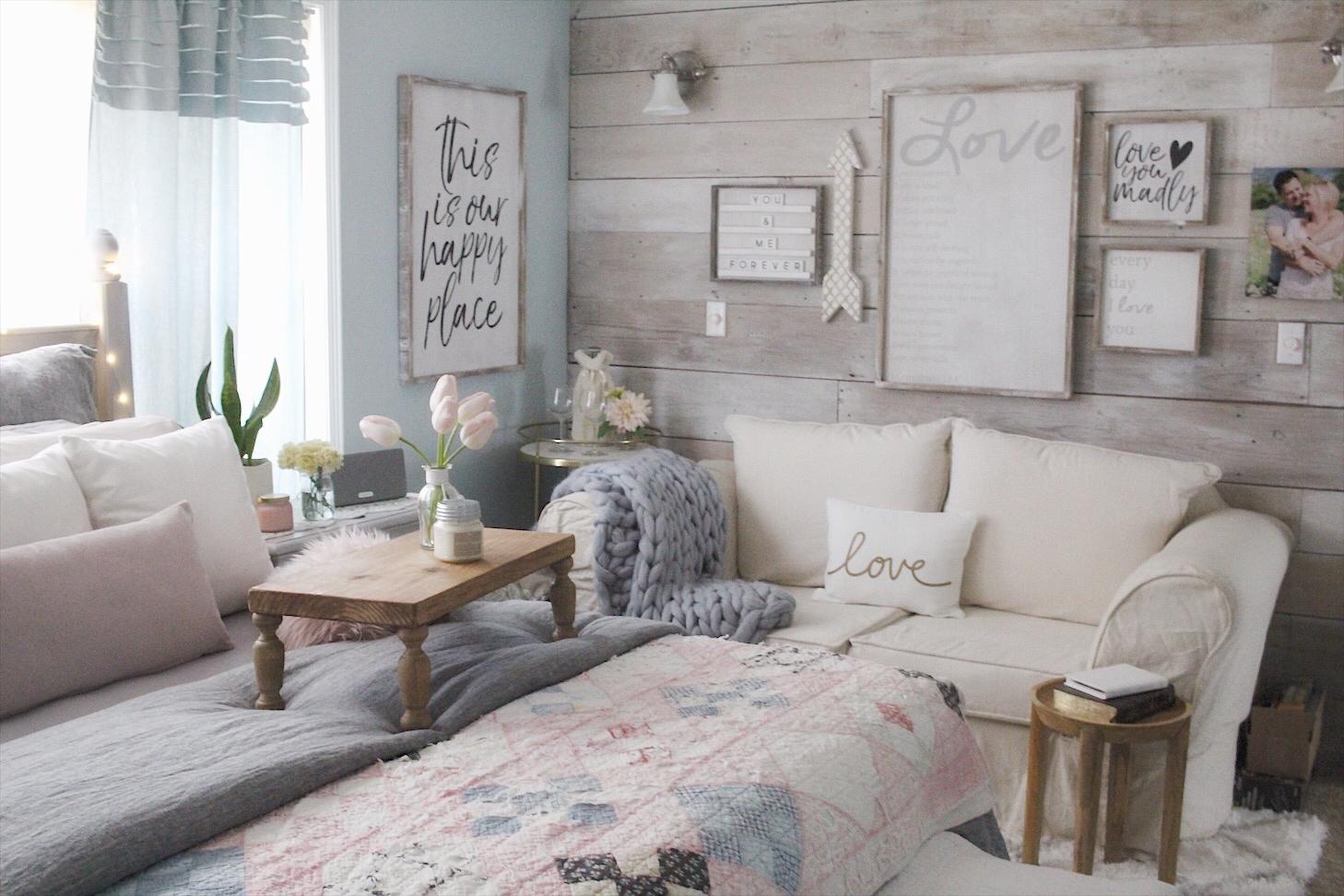 Cozy Bedroom spring decor - small shop support