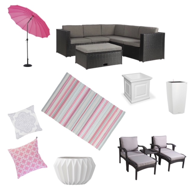 Round up of favorite outdoor pieces from Wayfair