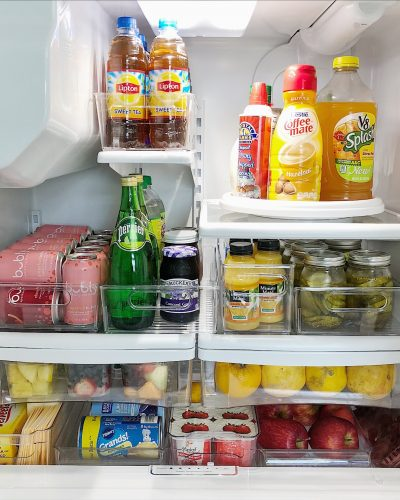 Refrigerator Organization Never Looked Prettier