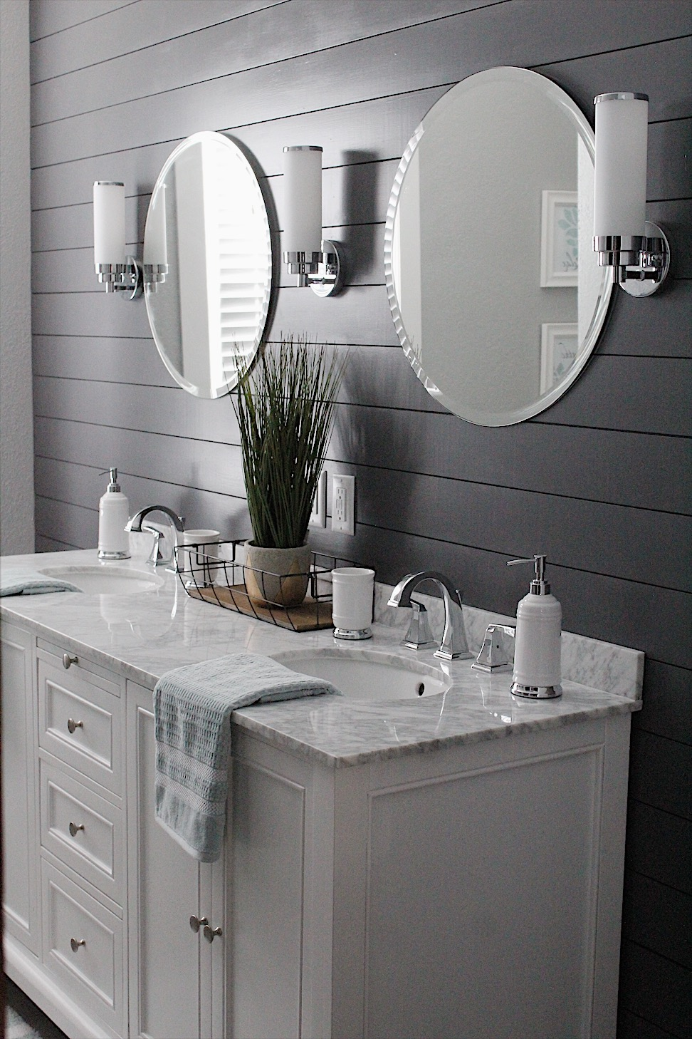gorgeous bathroom remodel with stunning finishing features