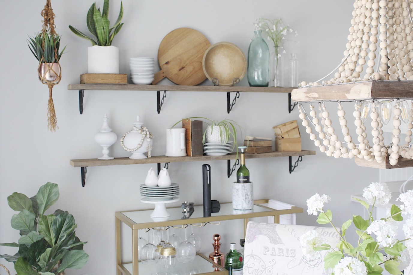 open shelf styling made easy