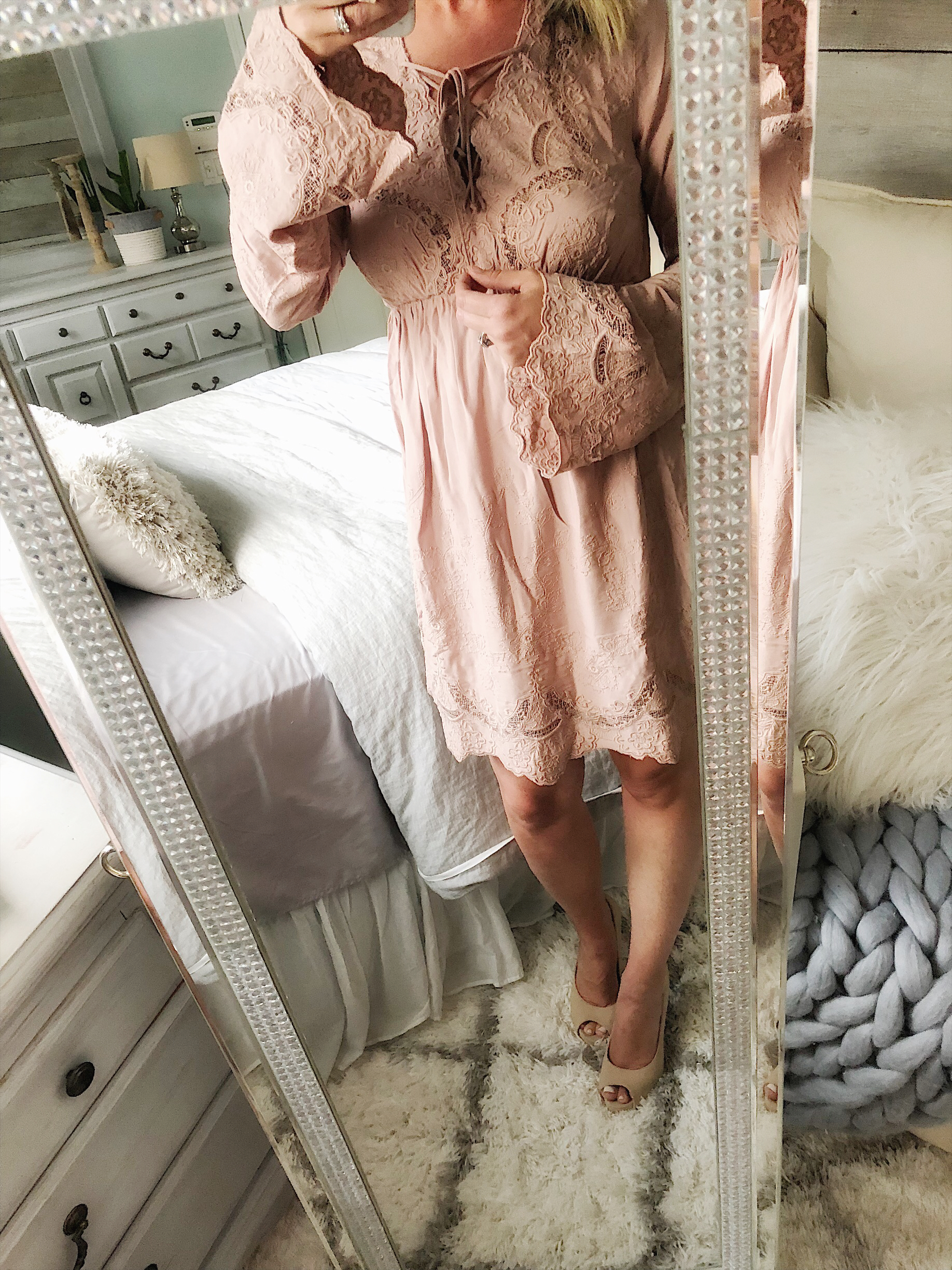 Stepping outside my comfort zone with The Claire Dress from Cloth and Cabin