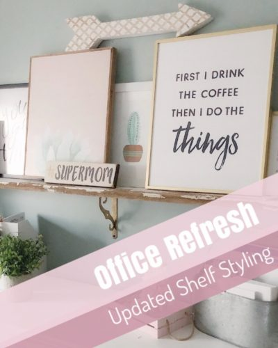 Open Shelf Gallery Wall – New Prints from Etsy