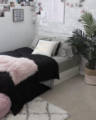 Teenage Bedroom Makeover – College Dorm Inspo