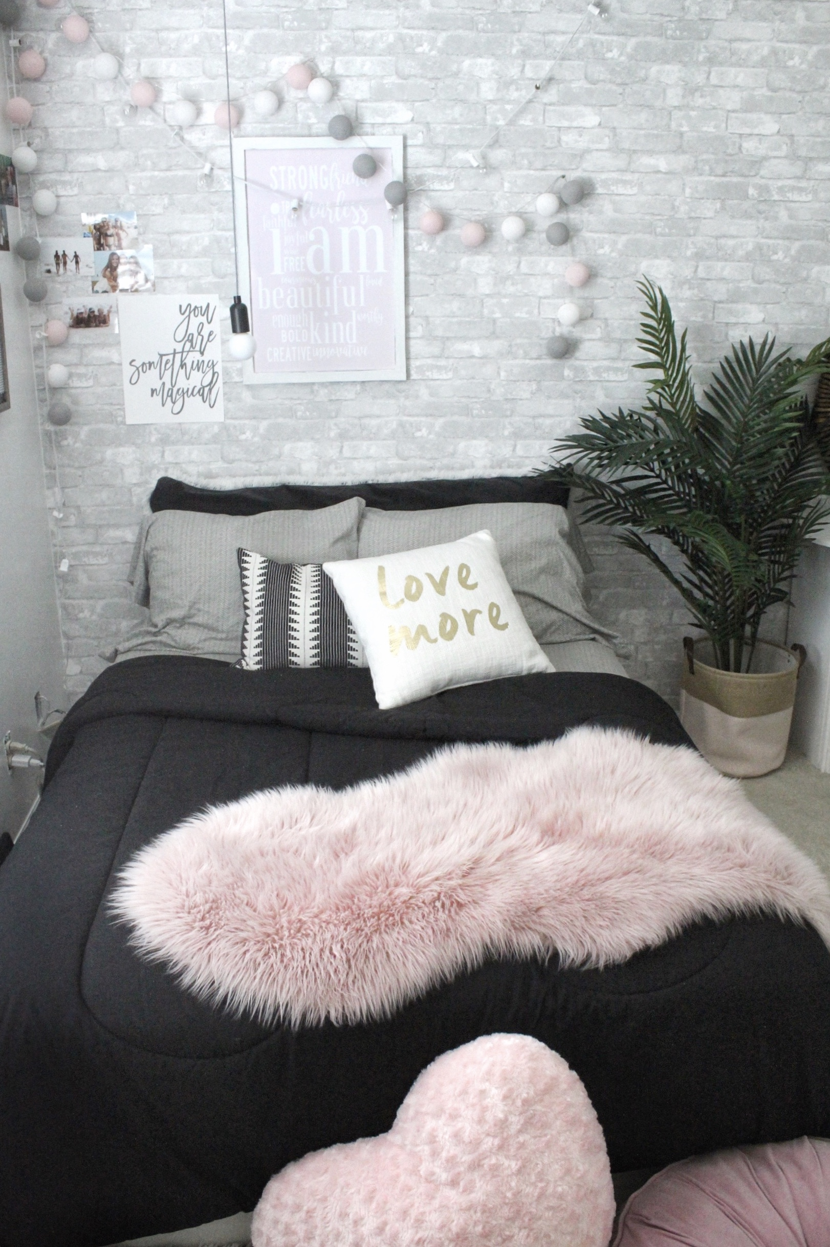 Dorm Room Inspiration Pink