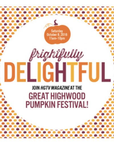 Great Highwood Pumpkin Festival with HGTV Magazine!