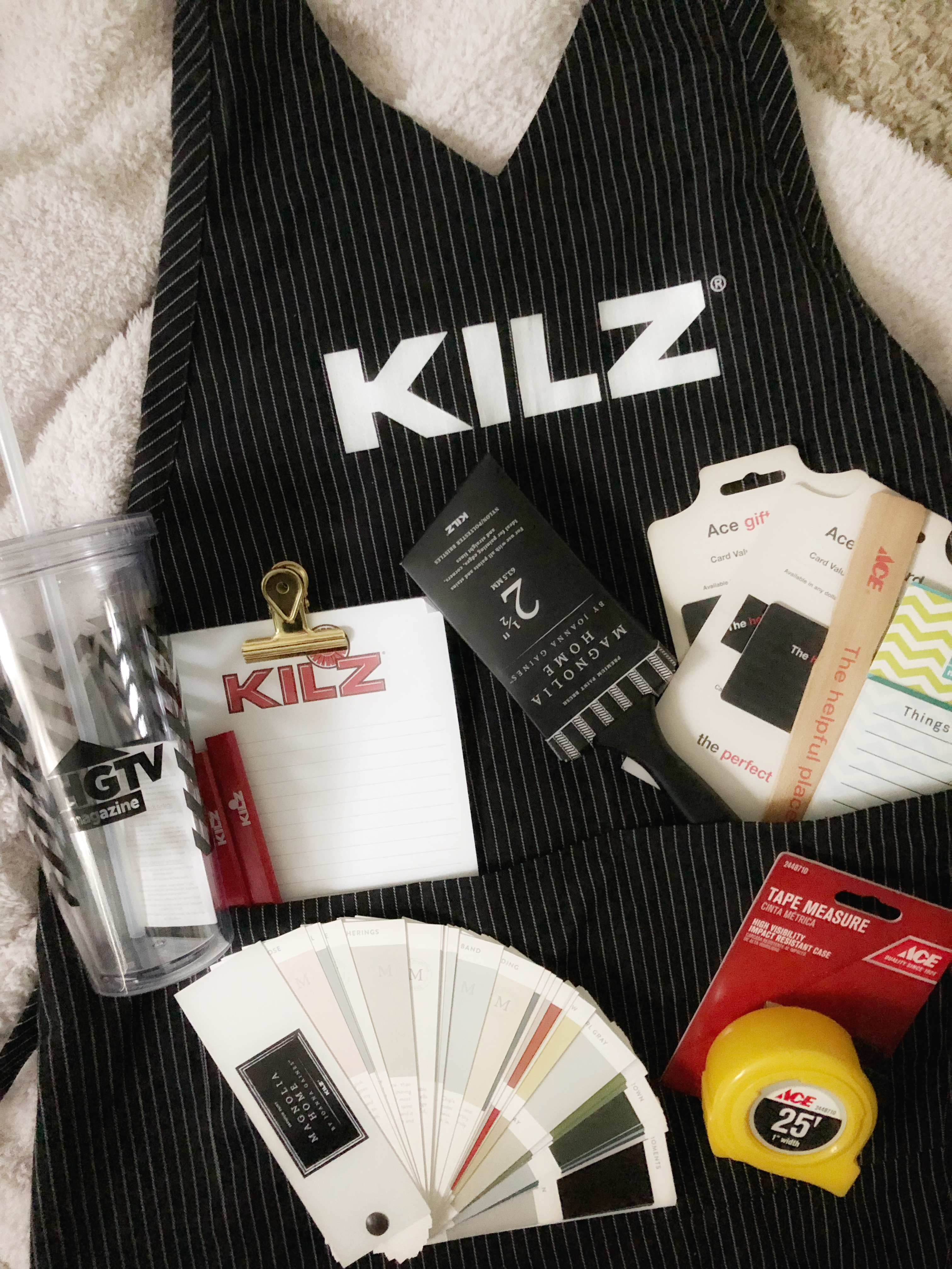 a look inside the swag bag - #kilzbrand