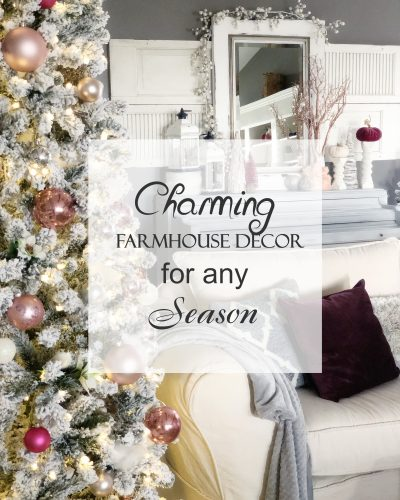 Charming Farmhouse Decor for any Season