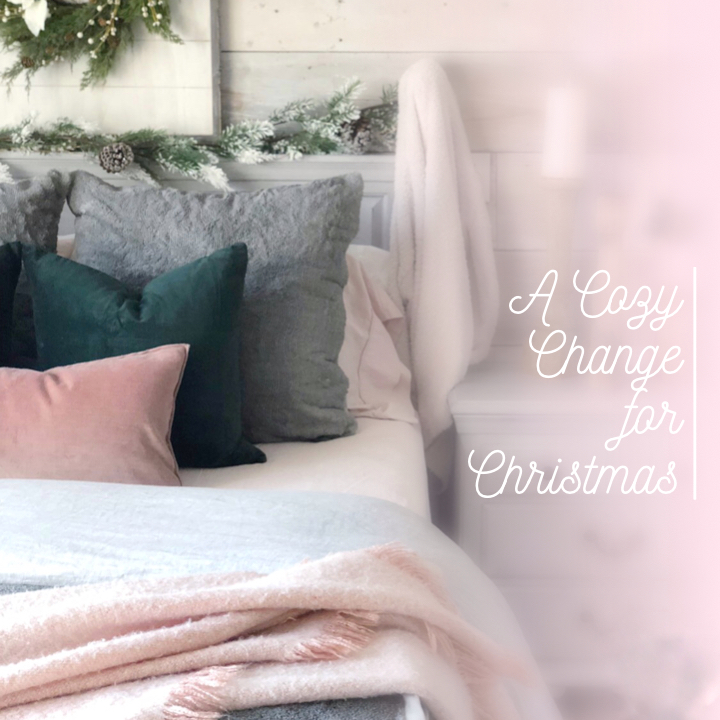 a cozy change for Christmas - intro