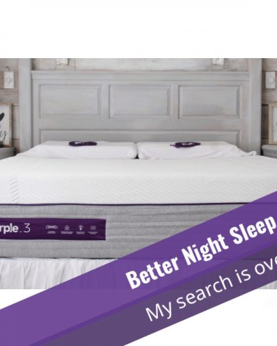 better night sleep - All-New Purple Mattress