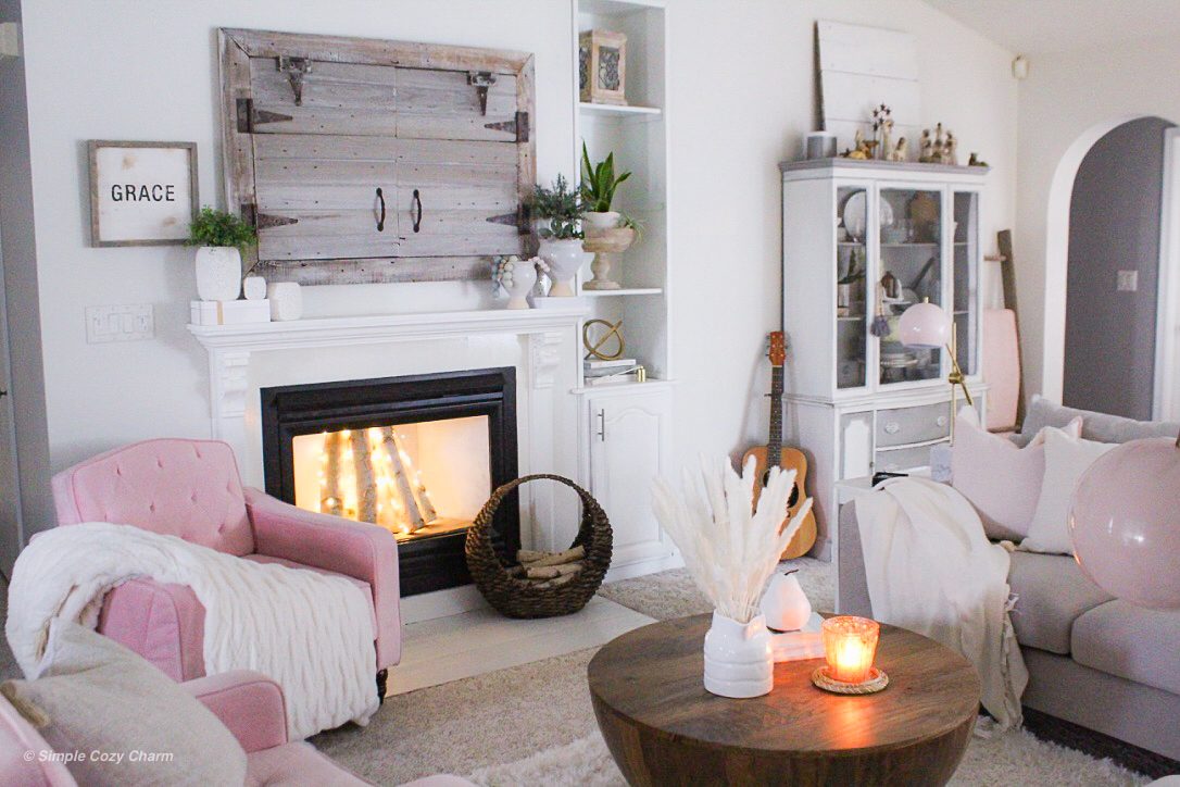 how to style a narrow mantle