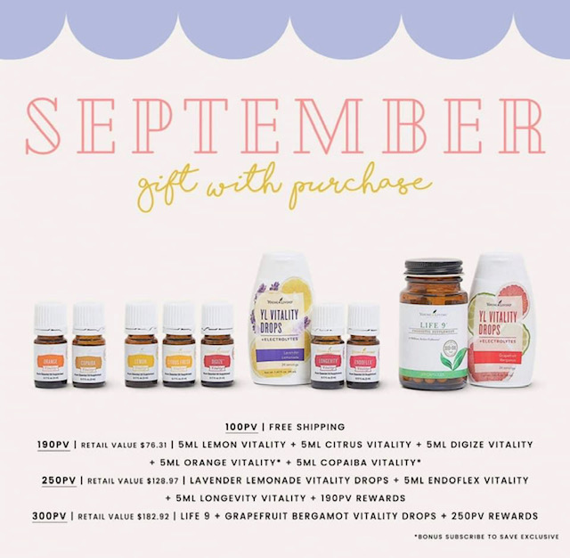 September gift with purchase